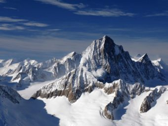 Swiss Alps: microplastics everywhere