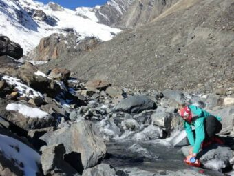 Plastic microfibers found in the heart of the Himalayas